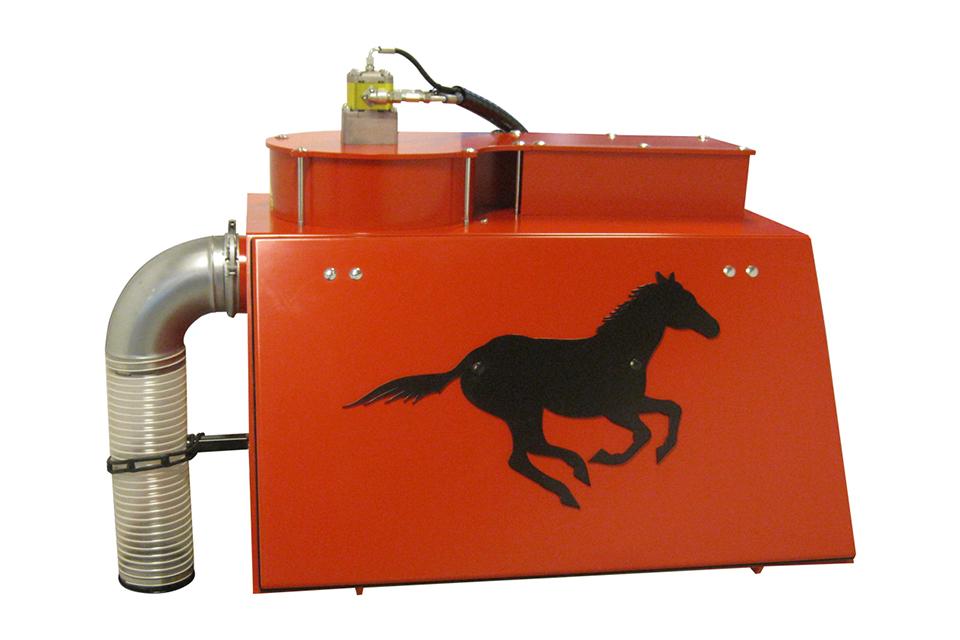 Elmaas masking og utstyr hestemøkkoppsamler