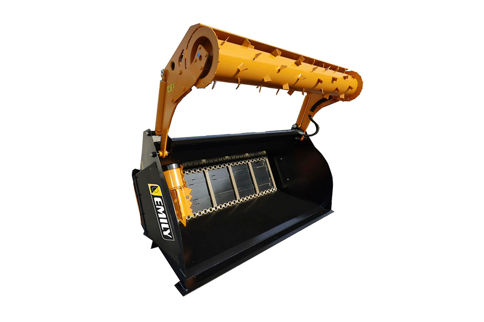 Elmaas masking og utstyr gresskuffe