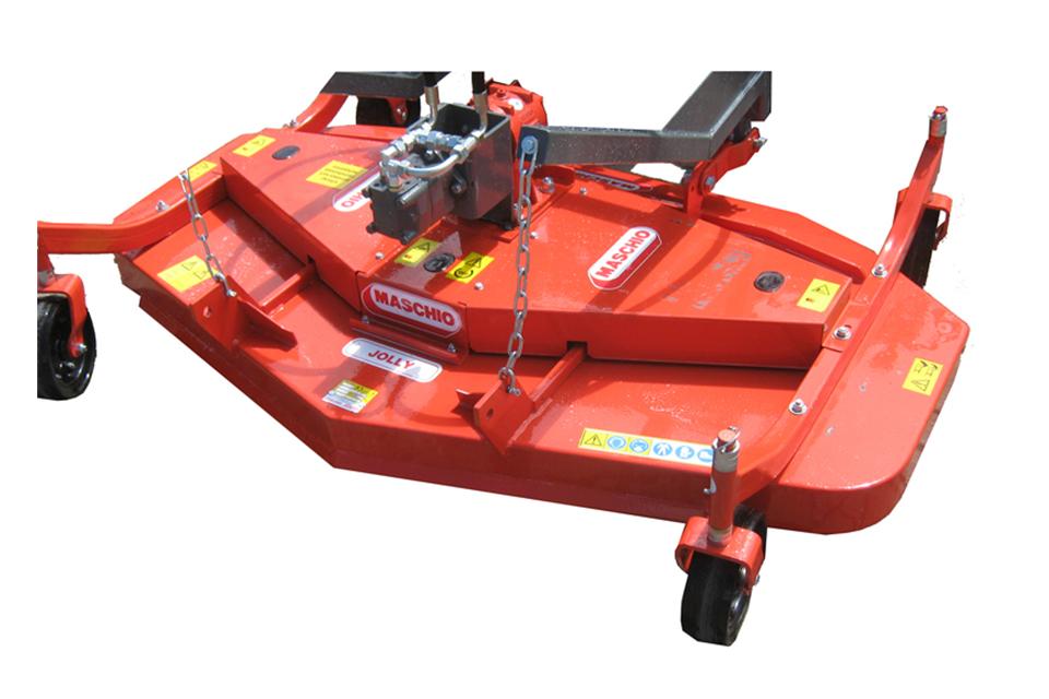 Elmaas masking og utstyr hydraulisk rotorklipper